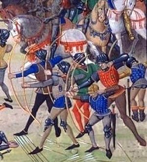 Could someone write a paragraph on Battle of Crecy?