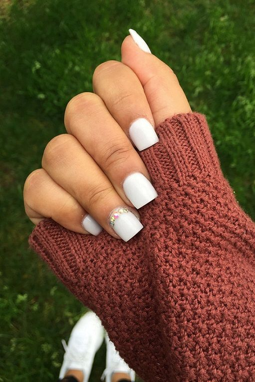 5o Short Acrylic Nails Ideas 2018 With Images Fall Acrylic