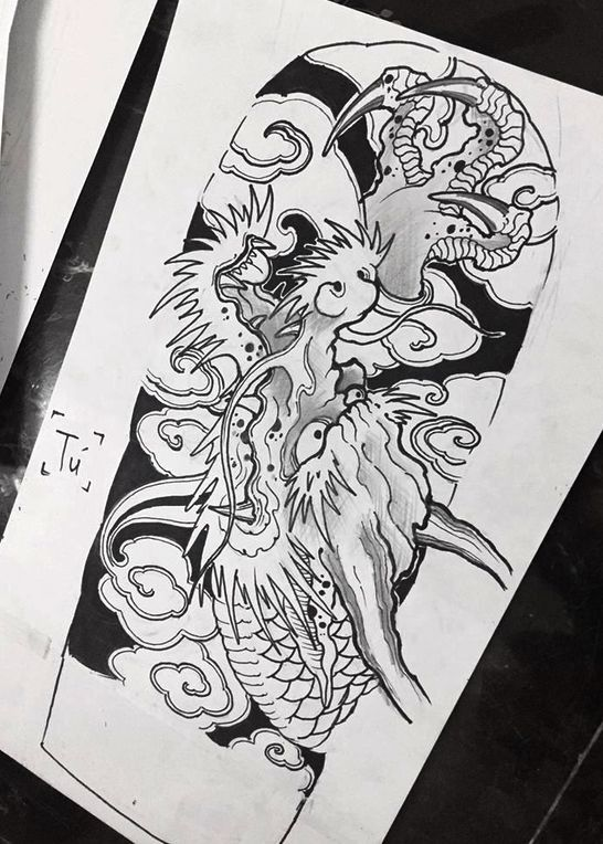 Chinese Tattoo Designs Yim Pdfhive Chinese Tattoos Designs Tattoos For Girls Smalltattoos Simpl Dragon Tattoo Art Japanese Tattoo Japanese Tattoo Art