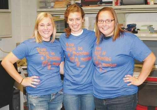 FFA chapter to sponsor fundraising events