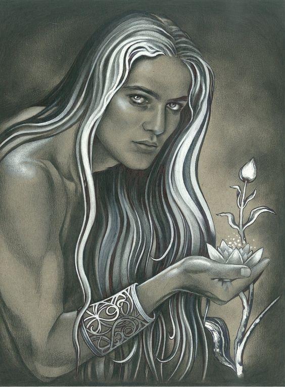 Gildor with Flower by ebe-kastein on DeviantArt