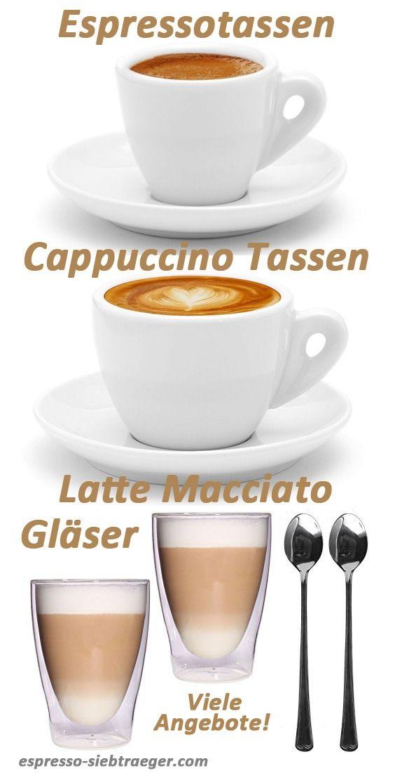Set 2 Espresso und 2 Lungo Tassen NESPRESSO Classic aus Porzellan für Kaffee