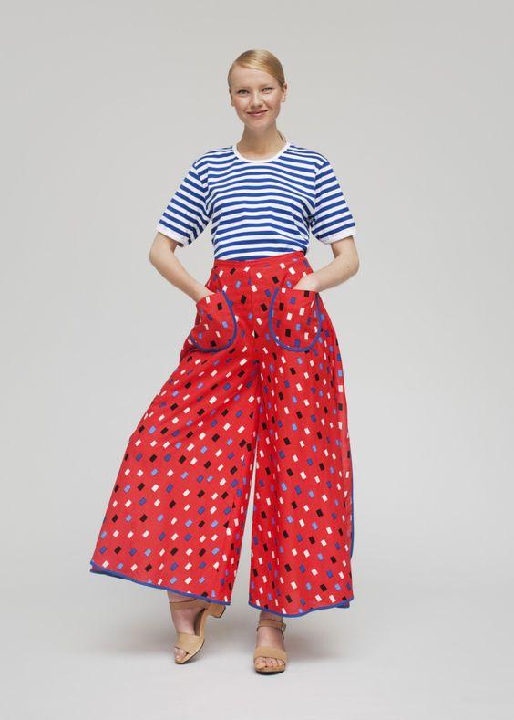 Hulmu trousers | Trousers | Marimekko