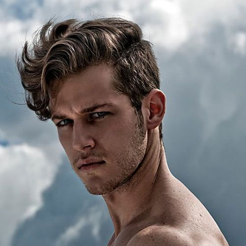 22+ Long thick wavy hair male trends