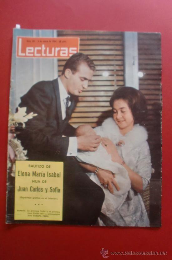 LECTURAS Nº 611 03/01/1964 BAUTIZO DE LA INFANTA ELENA - PACO RABAL - RAMON CALDUCH
