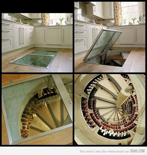 For the dream home I'll never have... I'm thinking this would be awesome as a food storage/pantry instead...