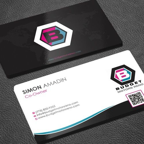 Local Business Needs An Out Of This World Business Card Design