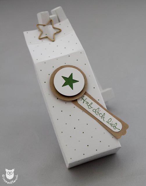 Stampin`Up! Geschenkschachtel, Box, Stern
