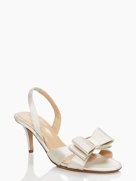 0756a13c40a2 evie by kate spade wedding shoes in ivory. kate spade a love letter ...
