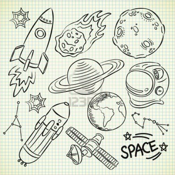 astronomy doodles - photo #26