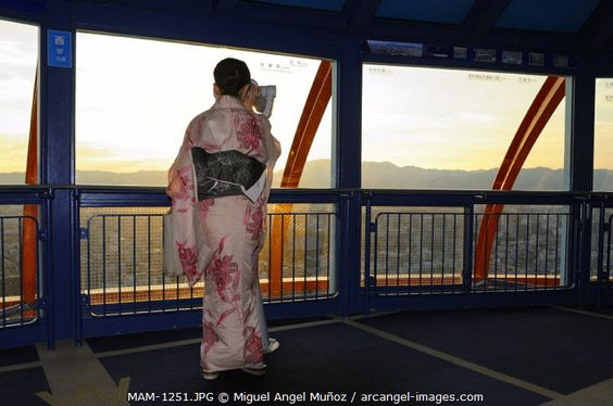 www.arcangel.com - woman-in-yukata-summer-kimono-looking-at