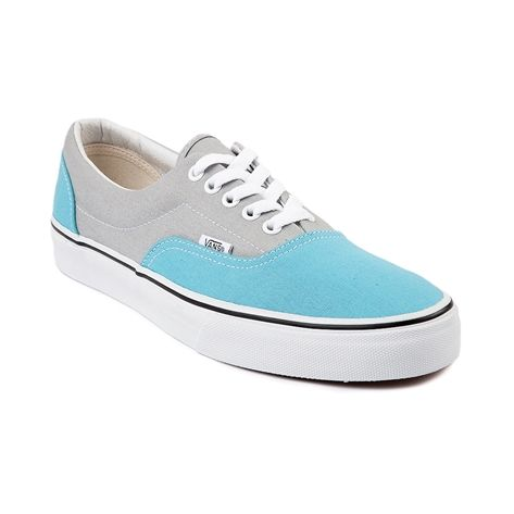 vans era blue light blue