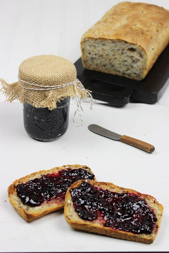 Bread & Blackberry Jam
