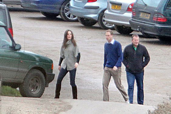 Will and Kate - Valentine's Day weekend 2010: