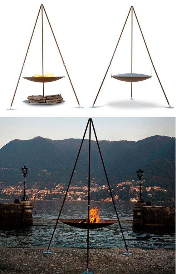 Portable Outdoor Fire Pit Australia : Fire pits, Outdoor fire and Front deck on Pinterest