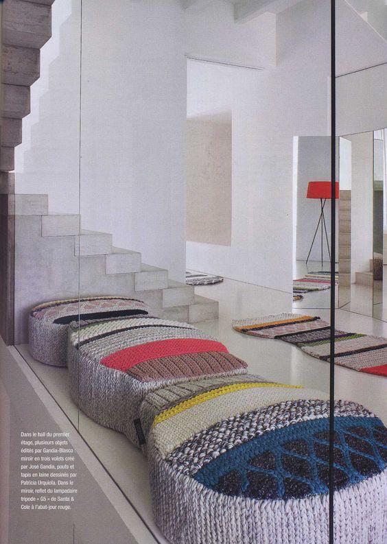 Lacasagandiablasco in Residences and Decoration magazine with GAN and Mangas design Patricia Urquiola #design #diseño #decoration #architecture #arquitectura #gandiablasco #ganrugs #Patriciaurquiola #creativity #art #creatividad #home