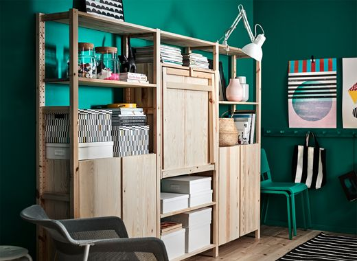 Combine The Different Pieces Of Ivar To Suit You And Your Space