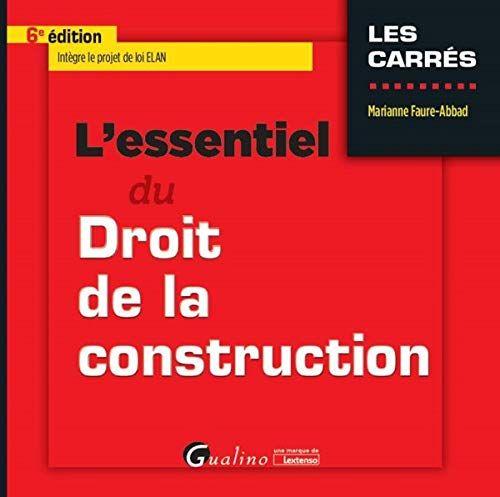 Telecharger Pdf L Essentiel Du Droit De La Construction Pdf Gratuit Par Broche Livre Jeunesse Gratui Listes De Lecture Telechargement Livres A Lire