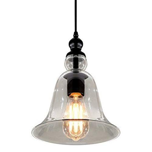 Lightess Glass Pendant Lights Industrial Kitchen Light Fi Https