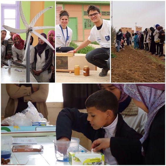 Projets menés par des équipages du 4L Trophy pour les enfants ! Solidarité, entraide, partage : des valeurs réelles du Raid !