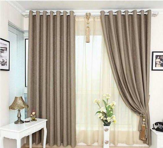 14 Estilos de cortinas