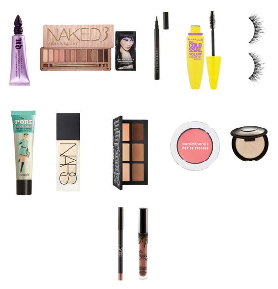 """Untitled #60"" by joleighgrace on Polyvore featuring beauty, Urban Decay, Benefit, Maybelline, NARS Cosmetics, Le Métier de Beauté, Kat Von D, Bare Escentuals and Becca"
