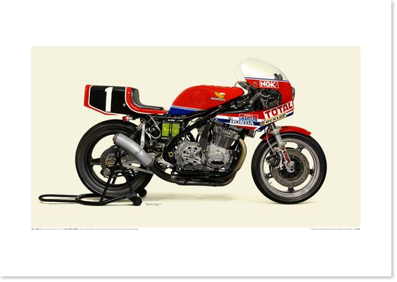 1981 HONDA RS1000 - Honda France - 柴田制作所通販部