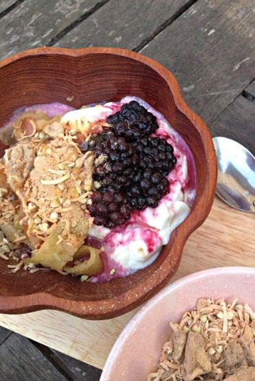 Loving Earth - Recipes - Breakfast Apples with Maca Powder