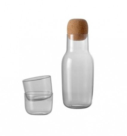 Corky #Carafe and #Glass Set by Andreas Engesvik. #Cork
