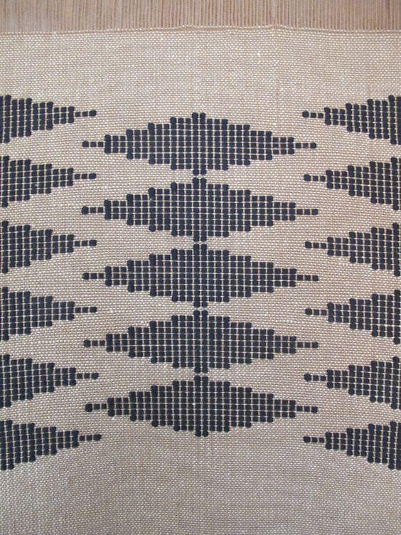 Handgewebter Wand hängen / Wandteppich / Weben / von LaTorna
