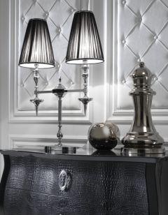 high end designer table lamp juliette 39 s. Black Bedroom Furniture Sets. Home Design Ideas