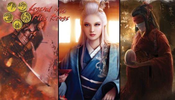 Krieg, Verbündete und Lektionen der Leere? Drei neue Bücher für Legends of the Five Rings