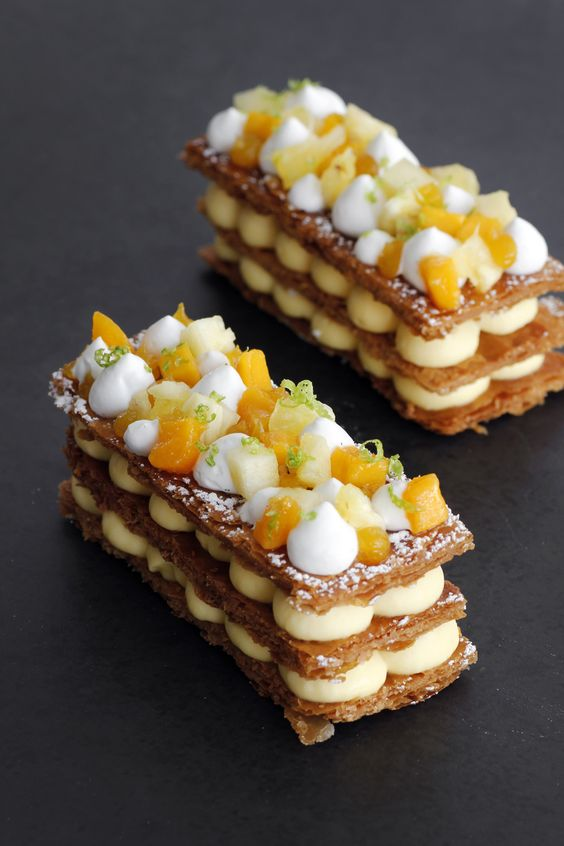 Tropical Mille Feuille:
