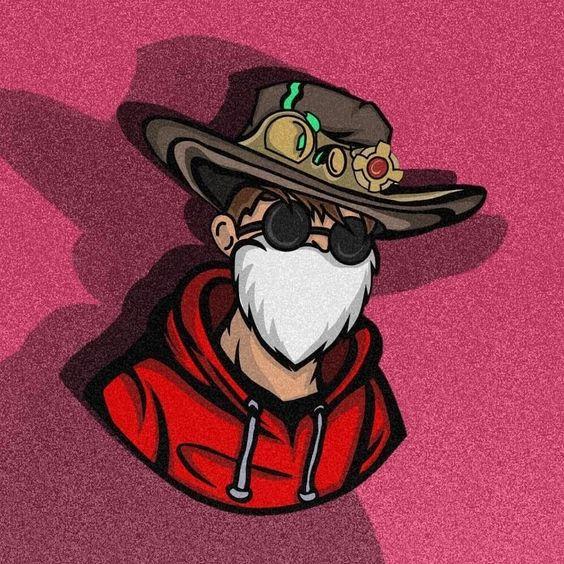 Logo Squad FF Keren Polos Orang Tua