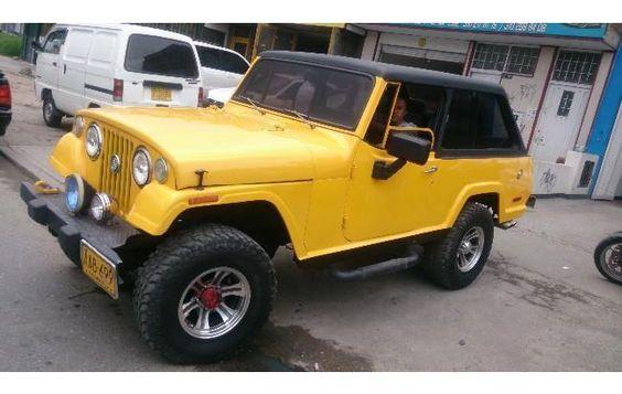 jeep comando modelo
