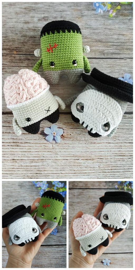 Crochet Halloween Cat Toy Softies Amigurumi Free Patterns ... | 1024x512