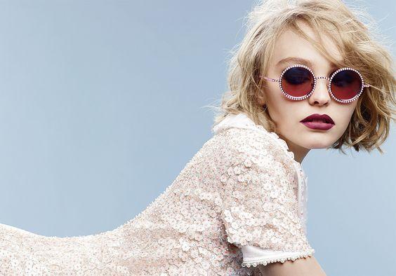 Aos 16 anos, Lily-Rose Depp estrela a sua segunda campanha para a Chanel