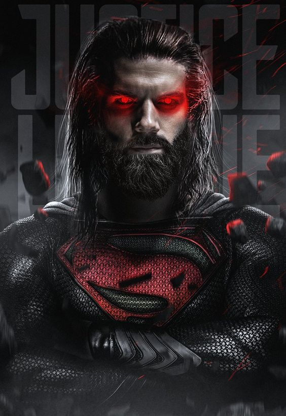 Cool New JUSTICE LEAGUE Fan-Art Resurrects SUPERMAN With A Beard, Mullet, AND Black Suit