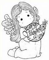 magnolia stamps tilda with little dove rubber stamp 10 95