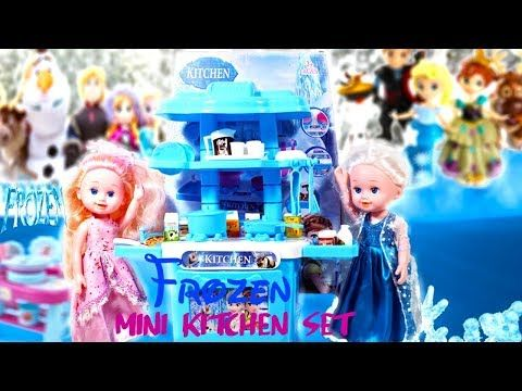 Youtube Princess Kitchen Girls Kitchen Set Frozen Princess