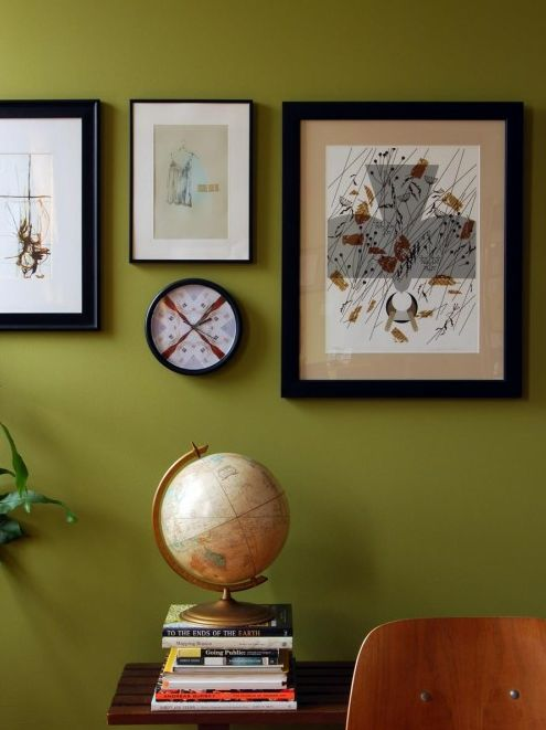 This wall colour is one of my favourites to design with