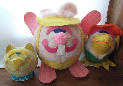 dudley easter bunny from the 70's