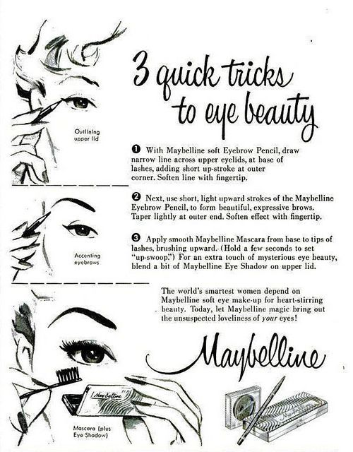 Three quick (timeless) tricks to eye beauty from the make-up experts at…
