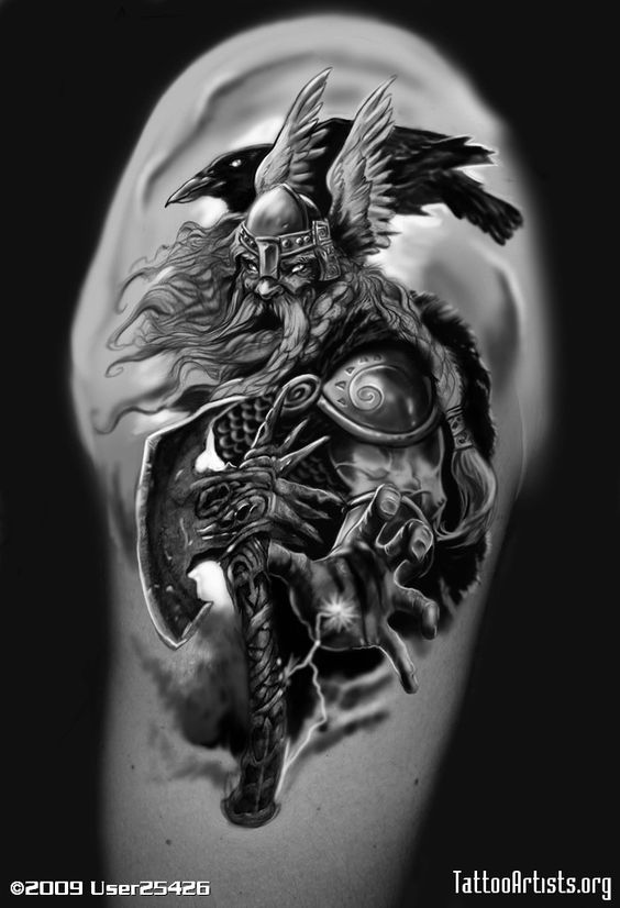 Odin S Ravens Tattoos: Img189889 Odin 1 Odin Tattoos