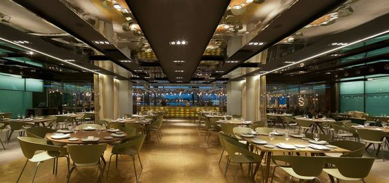 Salt, Event's Restaurant. Isabel Lopez Vilalta Arquitec.