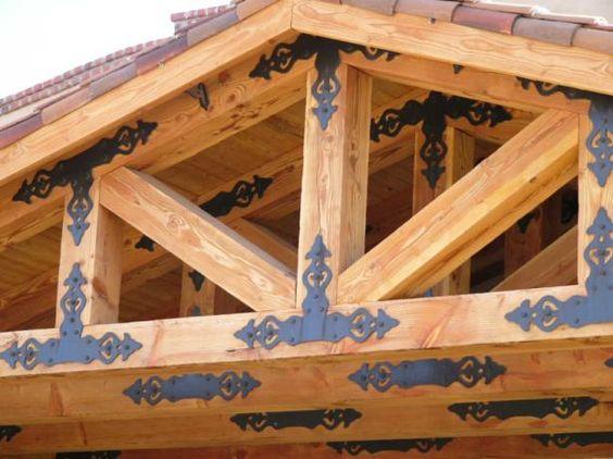 beautiful decorative truss plates exterior trim arbors. Black Bedroom Furniture Sets. Home Design Ideas