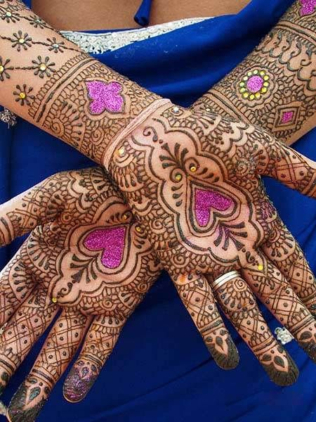 Karwachauth Bridal Mehendi Designs