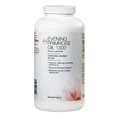 Evening primrose oil: Oil 1300, Hair