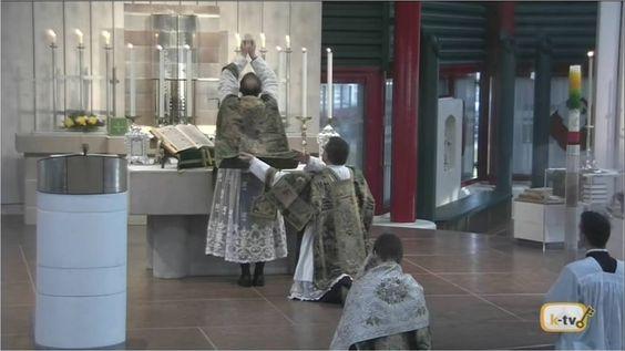 Misa solemne en pasado domingo después de Pentecostés, de Gebetsstätte W...