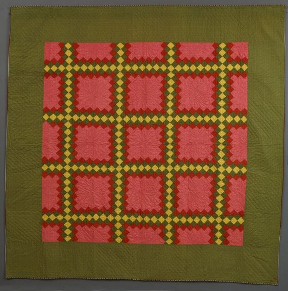 Triple Irish Chain quilt